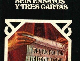 Leonardo Castellani – La centralización